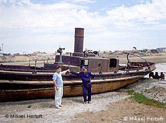 Einstige Häfen am Aral-See liegen trocken