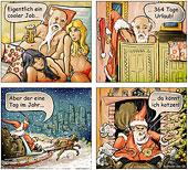 Der coole Job des Weihnachtsmann – Weihnachtscartoon